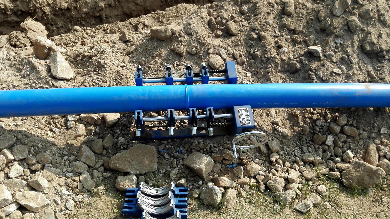PE給水農村安全飲水施工現場